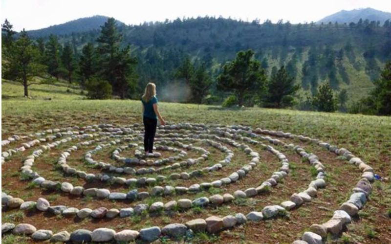 Maryann Brown in Stone Spiral